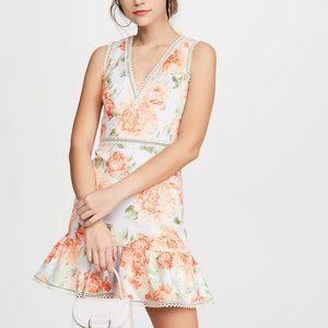 NWT Alice + Olivia Kirean Floral Lace Dress 10